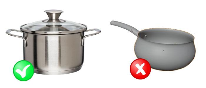 Chọn nồi chuyên dụng cho bếp từ