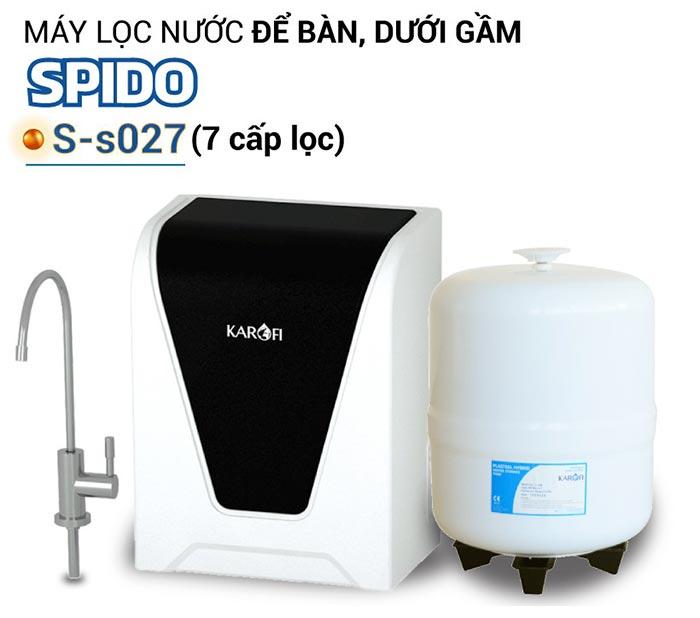 máy lọc nước KAROFI SPIDO S-s027
