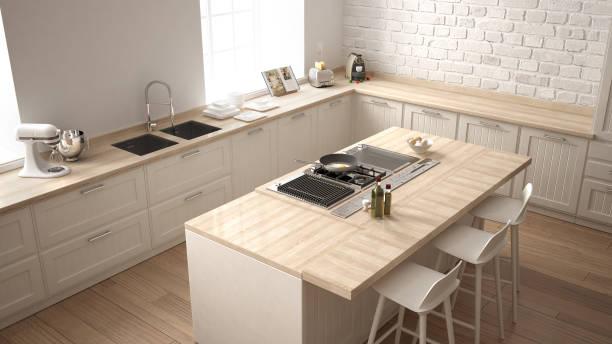 tủ bếp đơpn giản